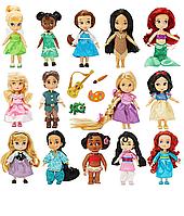 Набір з 14 мініаніматорів (Рапунцель, Флін, Русалочка, Попелюшка, Білосніжка, Дінь-дінь, Моана) Disney