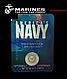 Футболка   мужская  логтип - морских сил US Navy   синяя официальная  Rothco США, фото 4