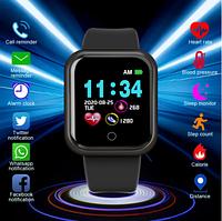 Умные часы Smart Watch GT08 Black часы с камерой часы с сим картой смарт часы под SIM карту