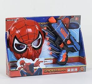 Крутой детский набор «Пистолет с маской», в наборе мягкие пули