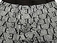 Трусы мужские боксеры бамбук Veenice серый буквы 48 размер, фото 2