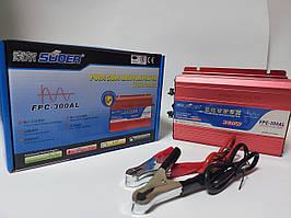 Инвертор Suoer-300A 300Вт 12В-220В. Чистый синус.