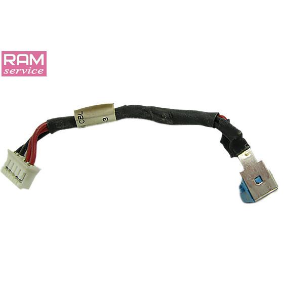 Роз'єм живлення, для ноутбука, Acer Extensa 5620G, 50.4T321.001, Б/В, В хорошому стані, без пошкоджень