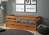 Кровать детская подростковая Нота Плюс, массив ольха, фото 2