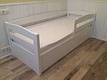 Кровать детская подростковая Нота Плюс, массив ольха, фото 3