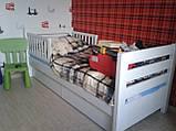 Кровать детская подростковая Нота Плюс, массив ольха, фото 4