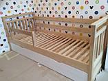 Кровать детская подростковая Нота Плюс, массив ольха, фото 5