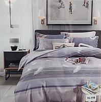 Комплект постельного белья микровелюр Vie Nouvelle Velour 200х220  VL119 евро, фото 1