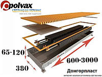 Внутрипольный конвектор полвакс KEM 380.2000.90/120 ( два теплообменника) Внутрипольный конвектор отопления., фото 1