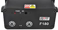 Лазерна установка (лазерний проектор, стробоскоп, диско лазер) BAMBA F180 Black (12905), фото 3