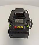 Лазерный уровень Hilda 4D 16 линий с дисплеем заряда ➜ ПУЛЬТ ➜ Зеленые лучи, фото 5