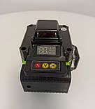 Лазерный уровень Hilda 4D 16 линий с дисплеем заряда ➜ ПУЛЬТ ➜ Зеленые лучи, фото 7
