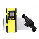 Приемник лазерный (ловушка) для лазерного уровня 5Гц Firecore, Huepar, Xeast (зеленый и красный лучи), фото 5