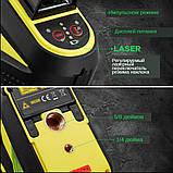 Лазерный уровень FIRECORE F93T-XG 3D 12 линий с треножкой, АКБ и очками - Зеленые Лучи, фото 7