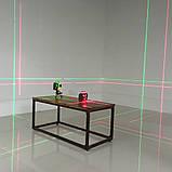 Лазерный уровень FIRECORE F93T-XG 3D 12 линий с треножкой, АКБ и очками - Зеленые Лучи, фото 8