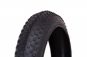 Велосипедная шина покрышка на фэтбайк 24x4.0 WANDA P1272 Черная (TIR-141)