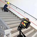 Лазерный уровень FIRECORE F93T-XR 12 линий с треножкой и Li-ion аккумулятором ➜ Красные лучи, фото 3