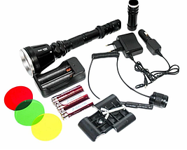 Ліхтарик Bailong Police BL-Q3888-T6 тактичний підствольний / ручний ліхтарик, фото 3