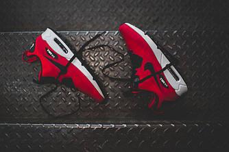 Кроссовки Nike Air Max 90 Mid Winter Red Красные мужские