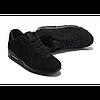 Кроссовки Nike Air Max 90 VT Black Черные Замш, фото 3