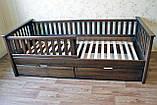 Кровать детская подростковая Карина, массив ольха, фото 2