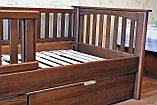 Кровать детская подростковая Карина, массив ольха, фото 3