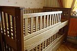 Кровать детская подростковая Карина, массив ольха, фото 5