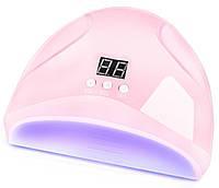 УФ лампа для гель-лака Dazzle mini-1 36 W для полимеризации, наращивания ногтей Pink (7173)