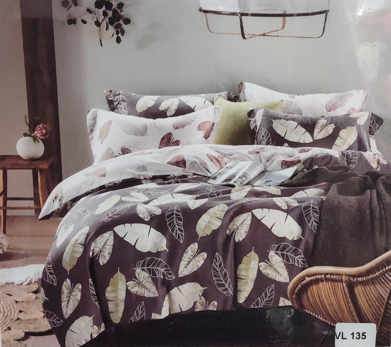 Комплект постельного белья евро микровелюр Vie Nouvelle Velour 200х220  VL135