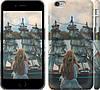 """Чехол на iPhone 6 Plus Девушка и корабль """"2982c-48"""""""