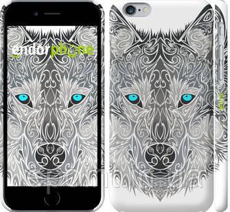 "Чехол на iPhone 6 Узорчатый волк ""3039c-45"""