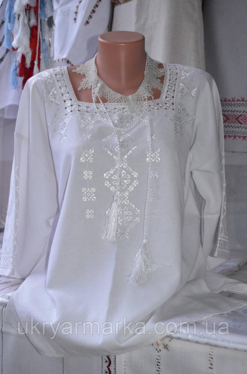"""Жіноча вишита блузка """"Ольга"""""""