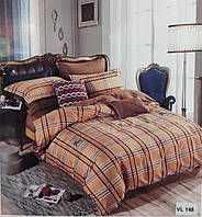 Комплект постельного белья микровелюр Vie Nouvelle Velour 200х220 VL148 Евро, фото 1