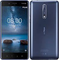 Nokia 8 4Gb/64Gb Tempered Blue (гарантия 3 месяца) + Защитное стекло на экран, фото 1