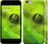 """Чехол на iPhone 6 Зелёный змей """"819c-45"""""""
