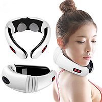 Электростимулятор массажер для шеи физиотерапия Cervical vertebra Neck Massager