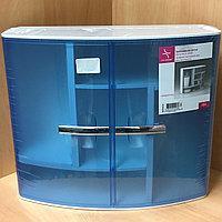 Шкаф в ванную комнату Prima Nova синий (9416)