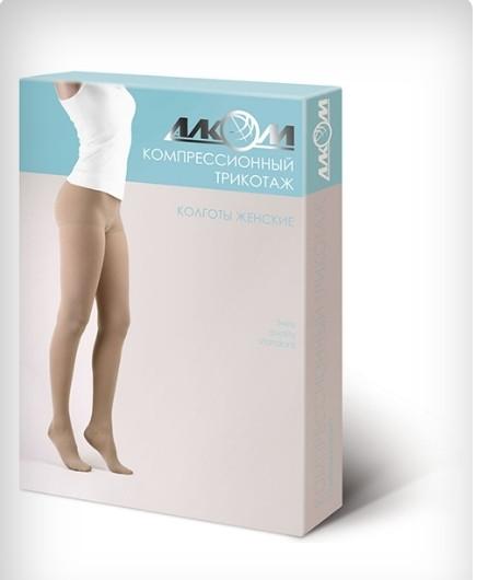 Колготы женские 3 компрессия лечебные (бежевые) UNI р3