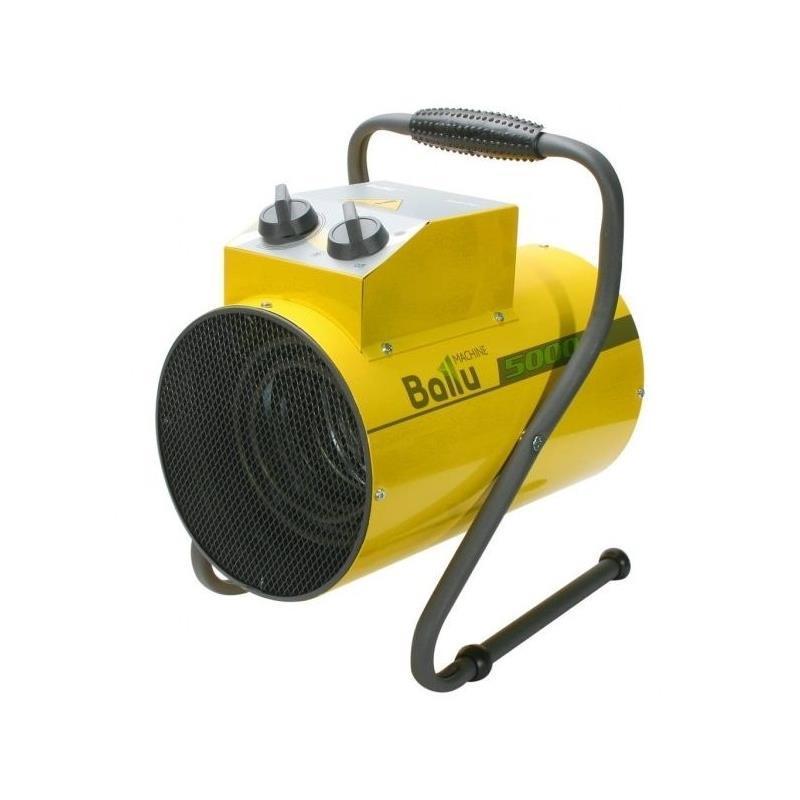 Обогреватель тепловая пушка Ballu BHP-PE-5 4500Вт 50м2, мех. упр-ние, жёлтый