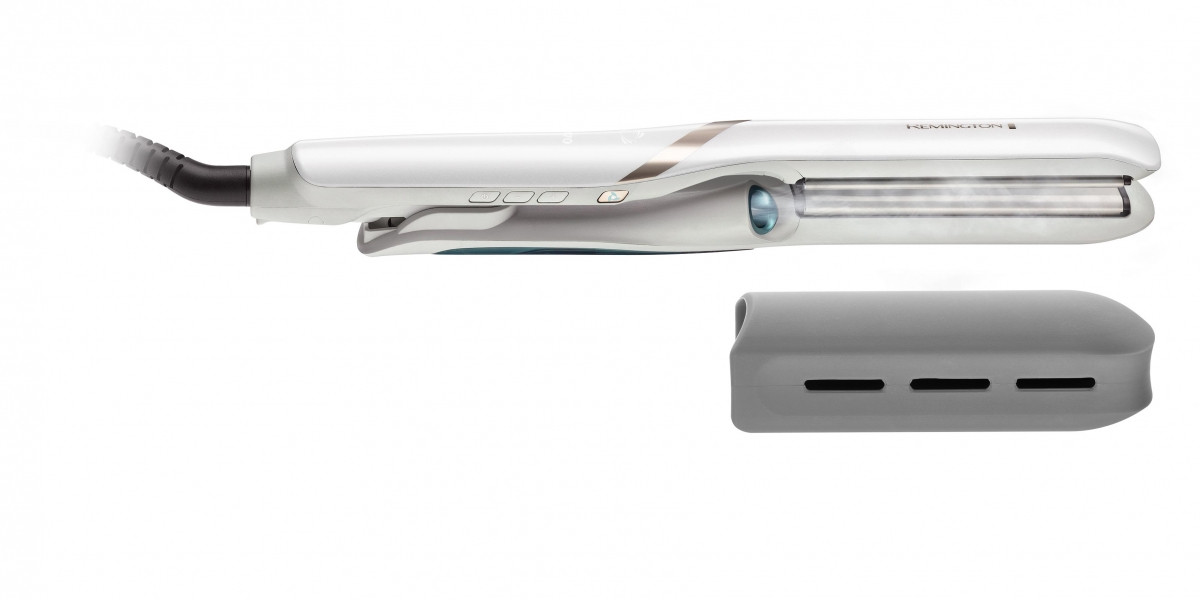 Выпрямитель Remington S9001 Hydraluxe PRO, 56 Вт, керамическое покрытие, нагрев 15 сек., белый