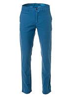 Джинсы мужские синего цвета из брючной ткани Future Flex от Pierre Cardin