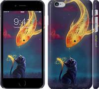 """Чехол на iPhone 6 Plus Кошкин сон """"3017c-48"""""""