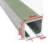 Раздвижная система для дверей USK 3019 (40кг) аналог EKF с 1,5 м профилем, фото 2