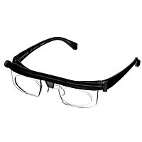 Очки для зрения с регулировкой линз Dial Vision. Универсальные очки для зрения . Очки-лупа от -6d до +3d