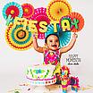 """Набор бумажных вееров """"Fiesta mix"""" (6 шт.), фото 7"""