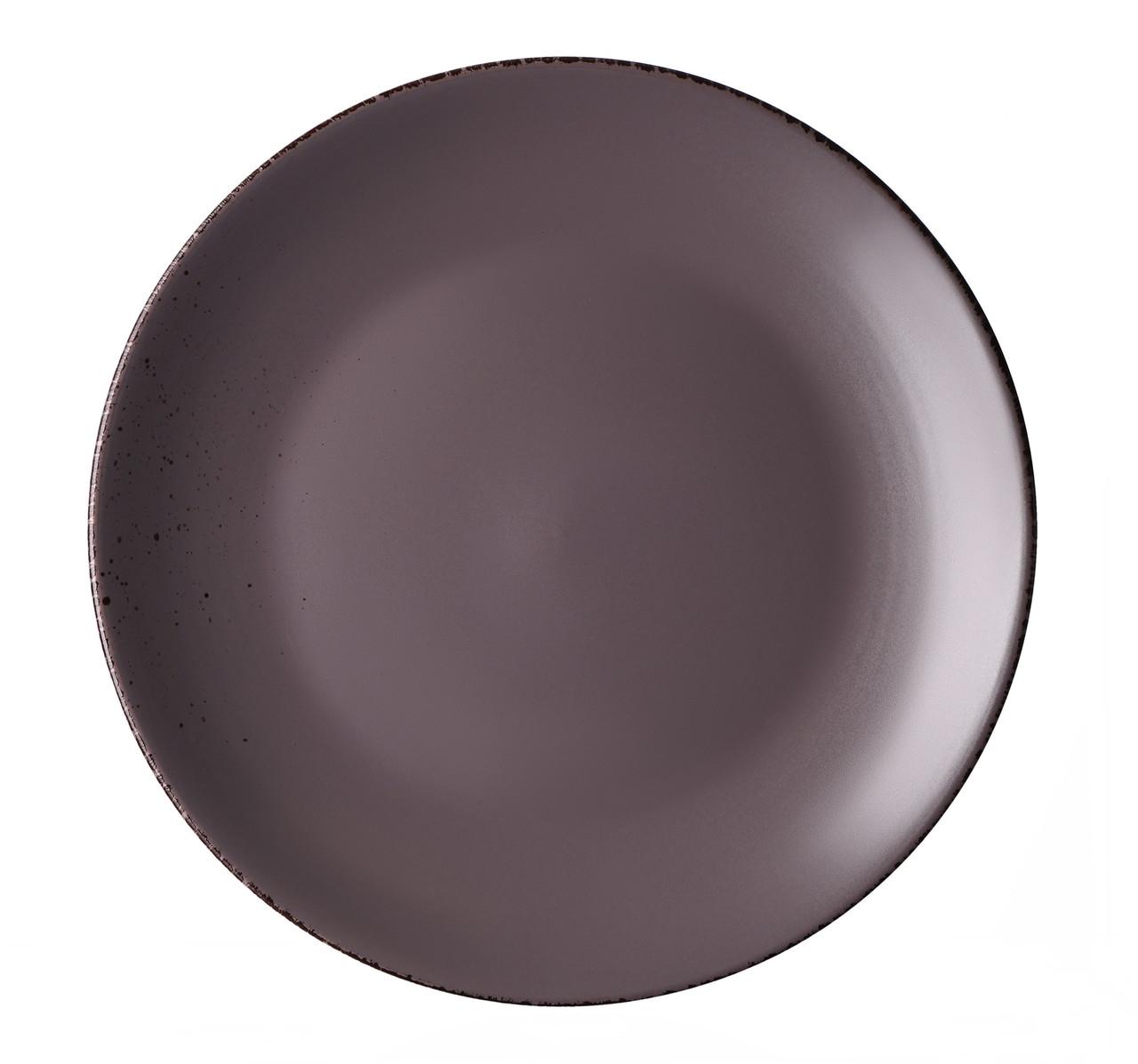 Тарелка десертная Ardesto Lucca 19 см Grey Brown