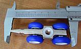Раздвижная система для дверей  USK 3015 (80кг) аналог EKF с 1,5 м профилем, фото 6