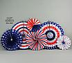 """Набор бумажных вееров """"America"""" (6 шт.), фото 5"""
