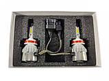 Світлодіодні LED-лампи для автомобіля ADS С6 H11 6000K, 3600Lm з охолодженням LED Headlight, фото 2