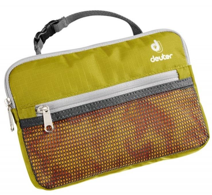 Удобная дорожная косметичка Deuter Wash Bag Lite 39400 2060 хаки